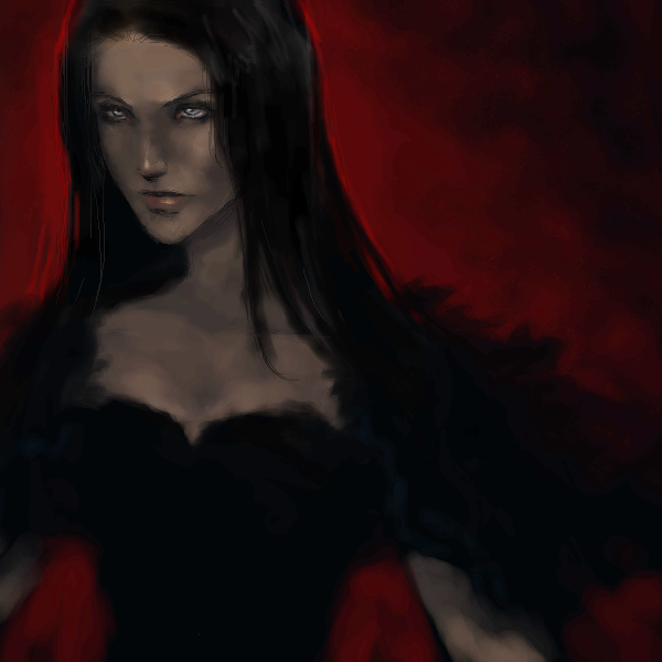 Raven, |, Loky, Галерея, набросков, рисунок, картинка, picture