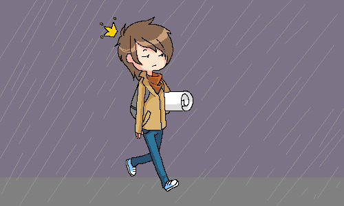 жэжэ, |, kaira, Галерея, набросков, дождик, =__=, рисунок, картинка, picture