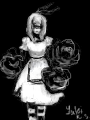 Alice, |, kuro, shiro, Галерея, набросков, срисовывал, из, манги, Are, you, но, добавил, своего, и, вообще, она, у, меня, как, там, не, получалась^^, рисунок, картинка, picture