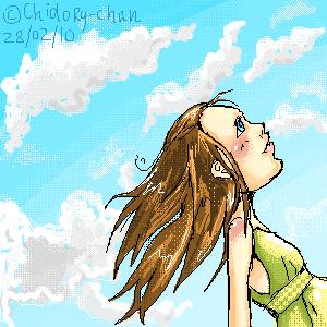 лето, |, Chidory, Галерея, рисунков, как, давно, я, не, рисовала, в, оекаки, хочется, лета-, результат--->, рисунок, картинка, picture