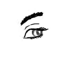 глазик, |, Azyko, Галерея, набросков, мой, первый, набросочек, рисунок, картинка, picture