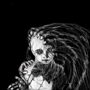 Чёрно-белое, |, Jorsoran, Галерея, набросков, рисунок, картинка, picture