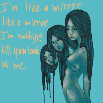 Like, A, Mirror, |, Demon, Галерея, набросков, пичаль, _, рисунок, картинка, picture
