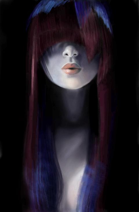 Secret, |, Yui-sama, Эскиз, рисунка, No, comments, рисунок, картинка, picture