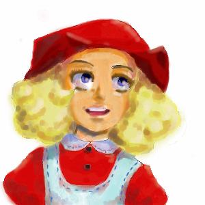 красная, шапочка, |, Jerry-me, Галерея, рисунков, рисунок, картинка, picture