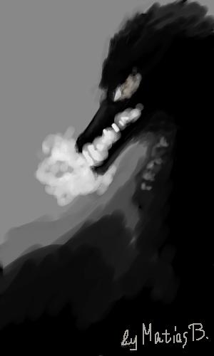 Драконыч, |, MatiasB, Эскиз, рисунка, рисунок, картинка, picture