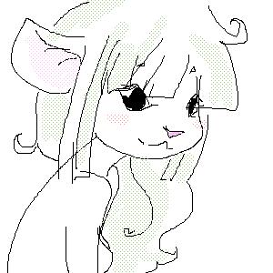 Зеленая, мыша, |, Tisha, Галерея, рисунков, =, рисунок, картинка, picture