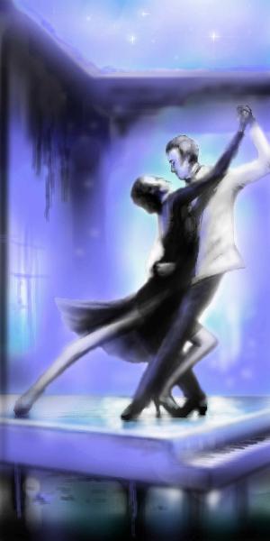 Танго, на, рояле, |, makatuk, Галерея, рисунков, рисунок, картинка, picture