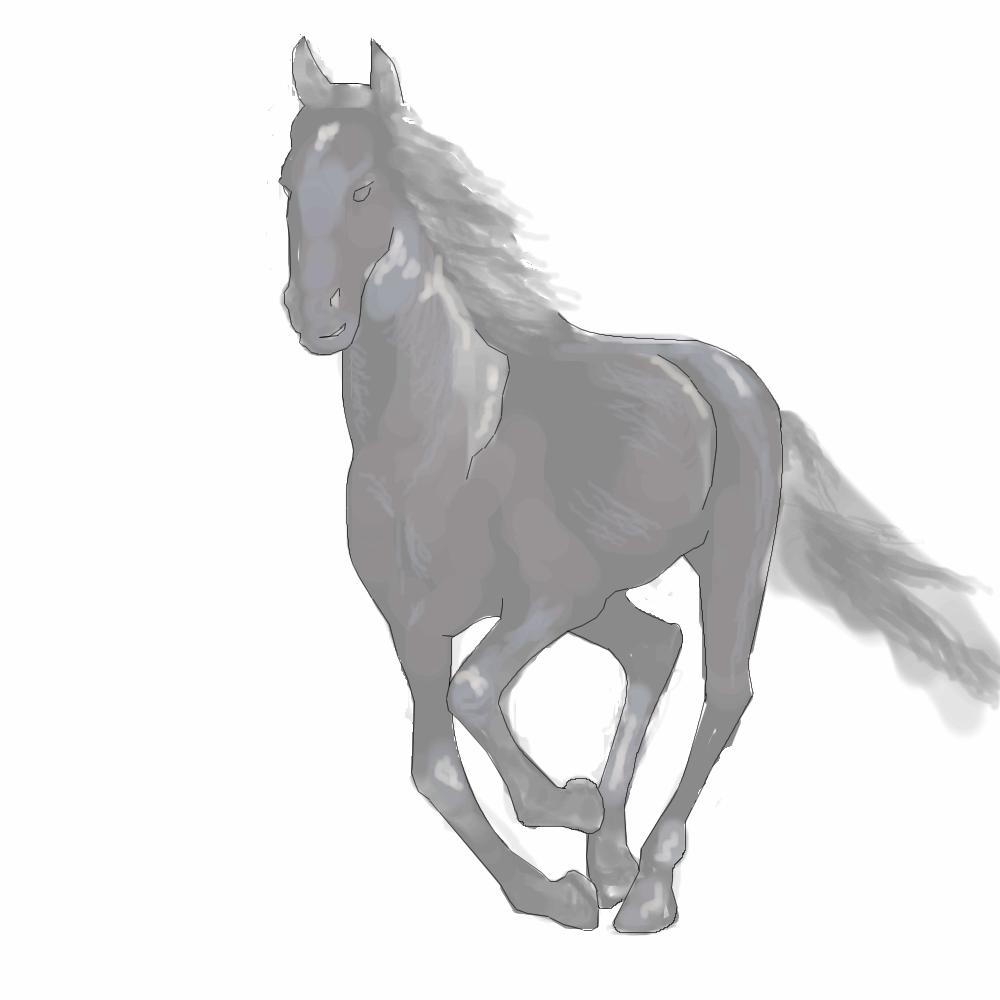 Конь, |, makatuk, Эскиз, рисунка, рисунок, картинка, picture