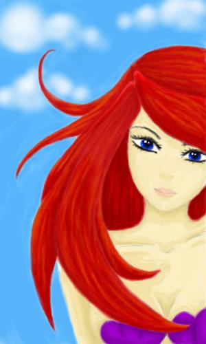 русалочка, |, Akuma666, Галерея, рисунков, любимая, из, принцесс, рисунок, картинка, picture