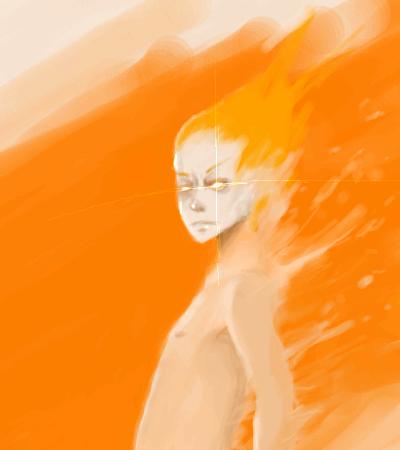 orange, |, M-ael, Галерея, рисунков, рисунок, картинка, picture