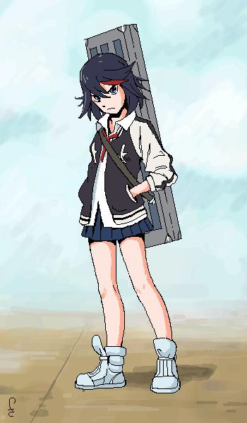 Ryuko, |, Novel, Галерея, рисунков, рисунок, картинка, picture
