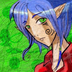 Elf, |, Evolie, Галерея, рисунков, рисунок, картинка, picture