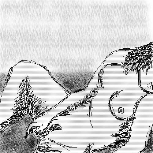 Рисунки карандашом голых