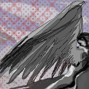 серая, птица, серого, дня, |, Mina, Эскиз, рисунка, рисунок, картинка, picture