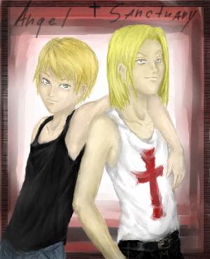 Setsuna&Katou, |, Demon, Галерея, рисунков, типа, готово, как, бы, рисунок, картинка, picture