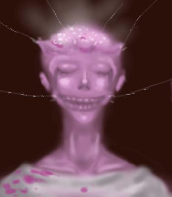 ужоснах, розовый,  , Demon, Галерея, набросков, поделиись, улыбкою, своееей, и, она, не, раз, еще, к, тебе, вернетсяаа, рисунок, картинка, picture