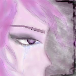 violet, sadness, |, Эскиз, рисунка, Это, мой, первый, рисунок, Поначалу, кажется, сложно, Думаю, дальше, будет, лучше, картинка, picture