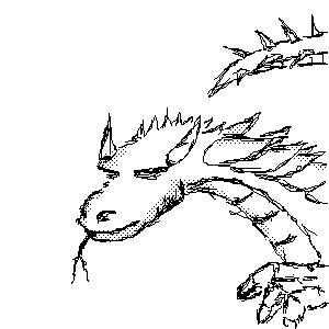 Дракон, |, Kerabiras, Галерея, рисунков, рисунок, картинка, picture