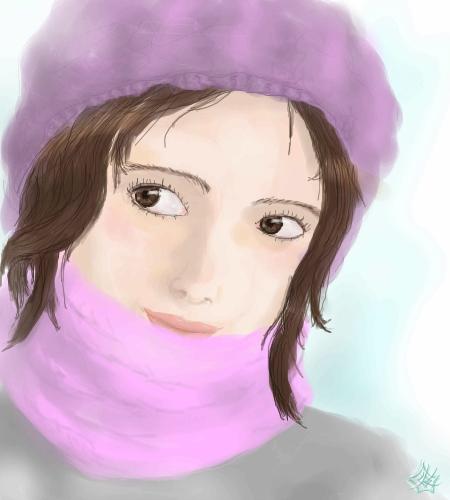 зимнее, |, Molly, Галерея, набросков, так, нарисовалось, рисунок, картинка, picture