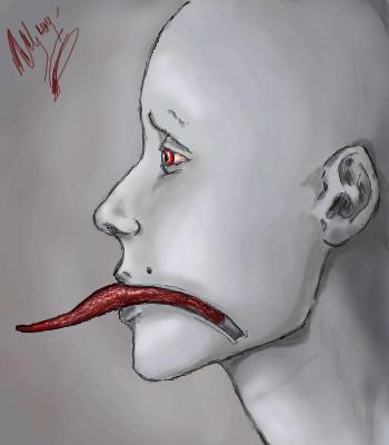 Тонкий, фарфор, |, Tsyoshi, Галерея, рисунков, Не, знаю, что, на, меня, нашло, наверное, психологическое, состояние, сказалось, рисунок, картинка, picture