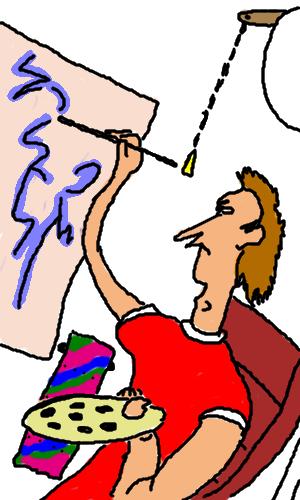 Работай, везде, пока, есть, настроение, |, Kerabiras, Галерея, рисунков, рисунок, картинка, picture