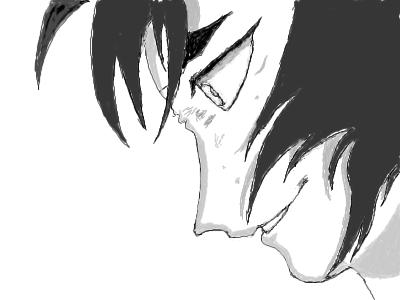 Yusuke, |, Spy, Галерея, набросков, хотел, добавить, цвета, но, потом, решил, оставить, так, рисунок, картинка, picture