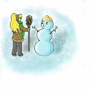 |, Ванильная, Галерея, набросков, Зима, вспомнилась, рисунок, картинка, picture