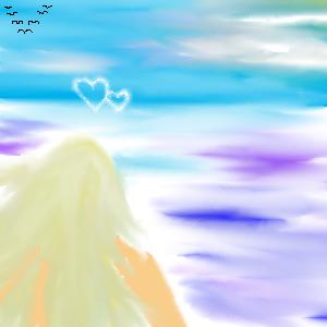 Романтическое, настроение, |, jeune_fille, Галерея, рисунков, рисунок, картинка, picture