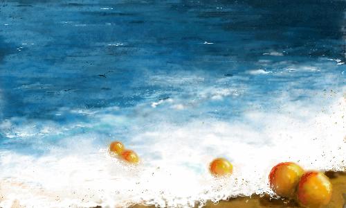 апельсины, |, irina, Галерея, рисунков, рисунок, картинка, picture