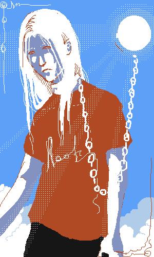 sun, addicted, albino, |, Demon, Галерея, рисунков, рисунок, картинка, picture