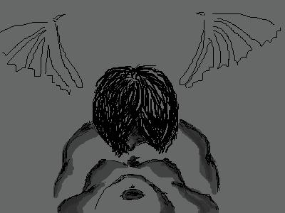 =, |, Devil_girl_RikkU, Эскиз, рисунка, еслибы, только, это, выглядело, так, же, как, в, головке, рисует, воображение, ><, рисунок, картинка, picture