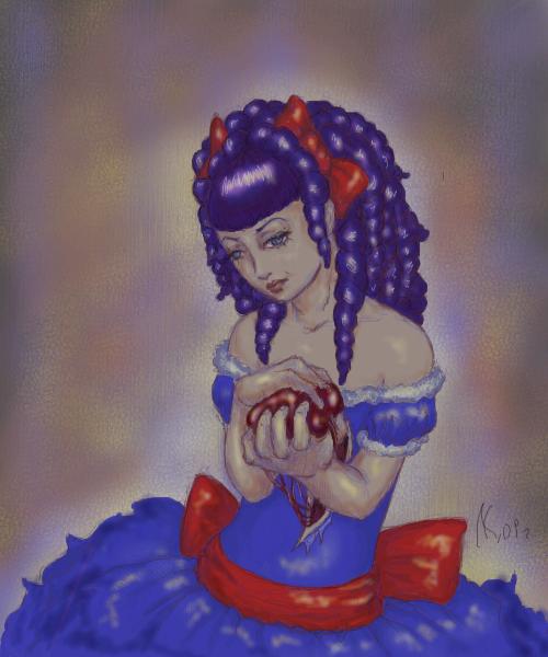 Кукла, с, большииим, сердцем=, |, Kartoon, Галерея, рисунков, рисунок, картинка, picture