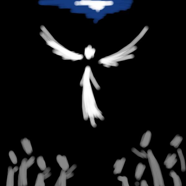 ангел, |, Gobus, Галерея, набросков, рисунок, картинка, picture