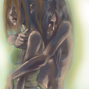 closer, |, Demon, Галерея, рисунков, сентиментально, да, рисунок, картинка, picture